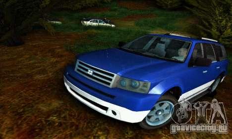 Landstalker GTA IV для GTA San Andreas
