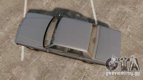 Chevrolet Caprice 1989 v2.0 для GTA 4 вид справа