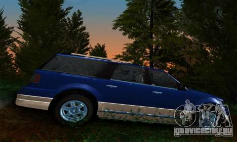 Landstalker GTA IV для GTA San Andreas вид слева