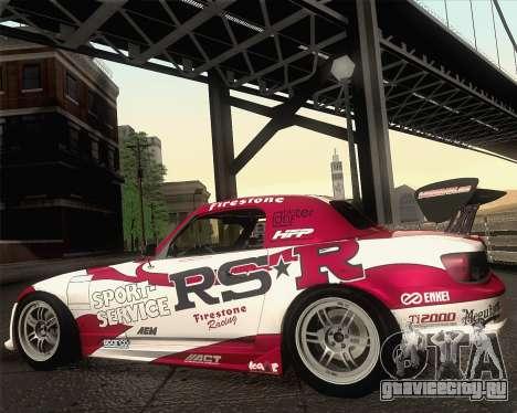 Honda S2000 RS-R для GTA San Andreas салон