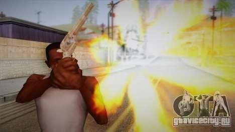 Colt Peacemaker(Хромовый) для GTA San Andreas третий скриншот