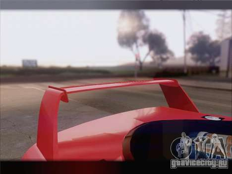 Dodge Viper Competition Coupe для GTA San Andreas колёса