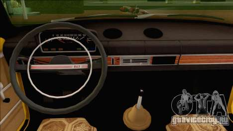 ВАЗ 21011 Такси для GTA San Andreas вид сбоку