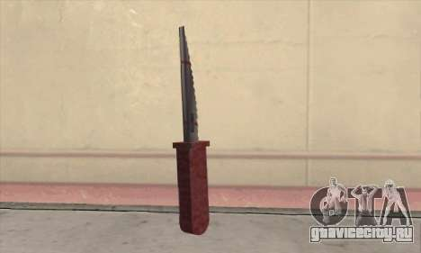 Faca Knife для GTA San Andreas второй скриншот