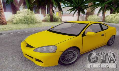 Acura RSX для GTA San Andreas вид слева
