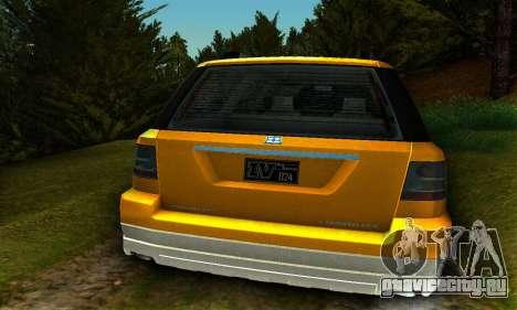 Landstalker GTA IV для GTA San Andreas вид справа