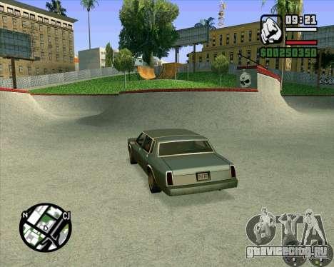 Новый HD Скейт-парк для GTA San Andreas шестой скриншот