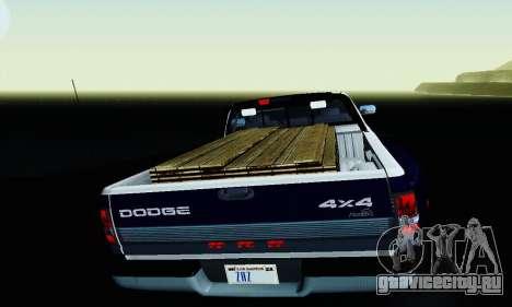 Dodge Ram 3500 для GTA San Andreas вид сверху