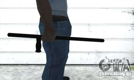 Полицейская дубинка для GTA San Andreas второй скриншот