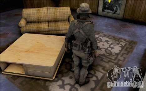 Капитан Прайс (в противогазе) для GTA San Andreas третий скриншот