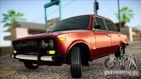 ВАЗ 21063 для GTA San Andreas вид изнутри