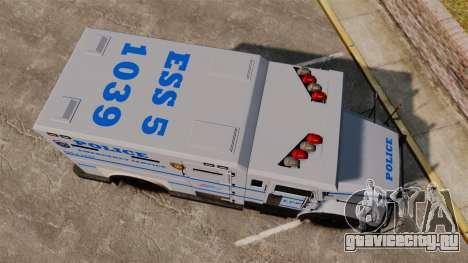 Enforcer LCPD [ELS] для GTA 4 вид справа