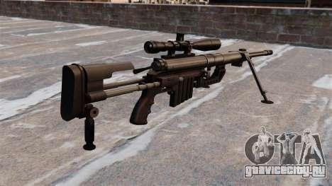Снайперская винтовка CheyTac Intervention для GTA 4 второй скриншот
