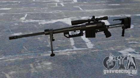 Снайперская винтовка CheyTac Intervention для GTA 4 третий скриншот
