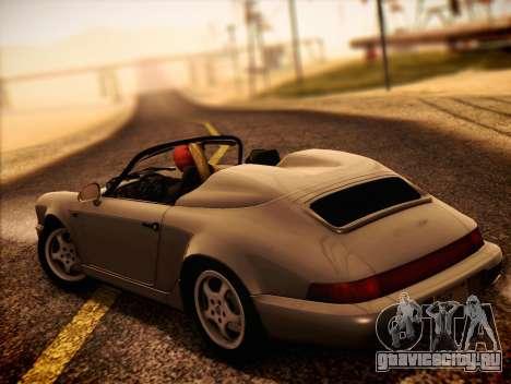 Porsche 911 Speedster Carrera 2 1992 для GTA San Andreas вид слева