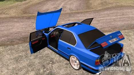 BMW 535i E34 Mafia Style для GTA San Andreas вид сбоку
