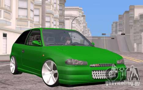 Opel Astra GSI Tuning для GTA San Andreas