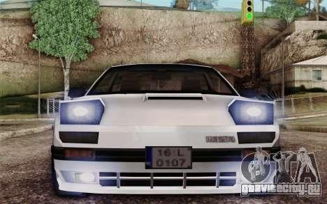 Mazda RX-7 для GTA San Andreas вид сзади слева