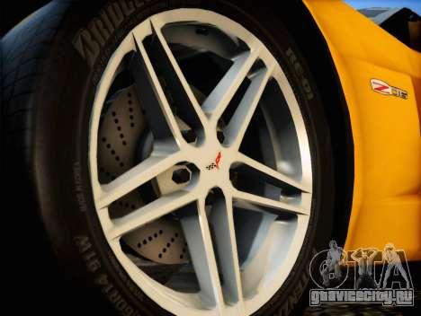 Chevrolet Corvette Z06 2006 v2 для GTA San Andreas вид справа