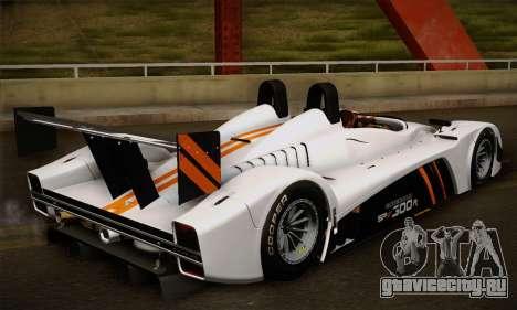 Caterham-Lola SP300.R для GTA San Andreas вид сзади