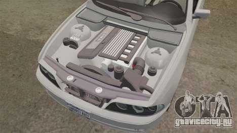 BMW 525i (E39) для GTA 4 вид сбоку