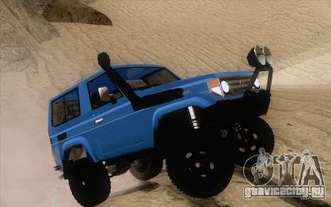 Toyota Fj70 4x4 2008 для GTA San Andreas вид справа