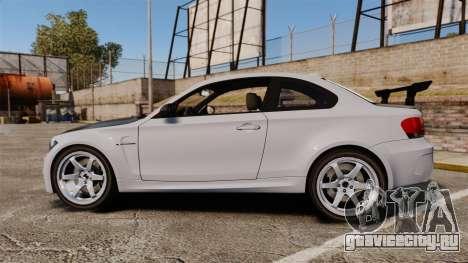 BMW 1M 2014 для GTA 4 вид слева