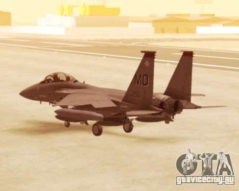 F-15E Strike Eagle для GTA San Andreas вид справа