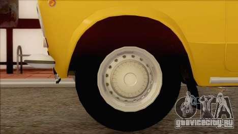 ВАЗ 21011 Такси для GTA San Andreas вид справа
