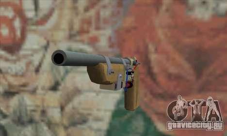 Самодельный пистолет для GTA San Andreas