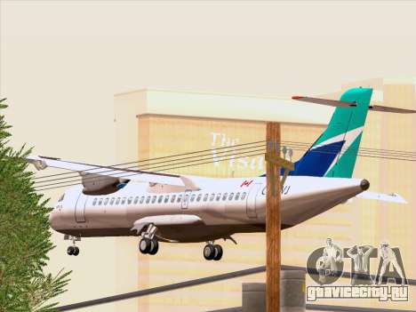 ATR 72-500 WestJet Airlines для GTA San Andreas вид сбоку