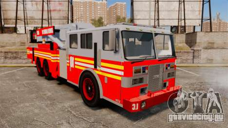 MTL Firetruck Tower Ladder [ELS-EPM] для GTA 4