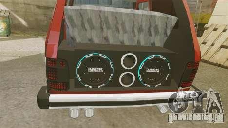 ВАЗ-21213 Нива LT для GTA 4 вид изнутри