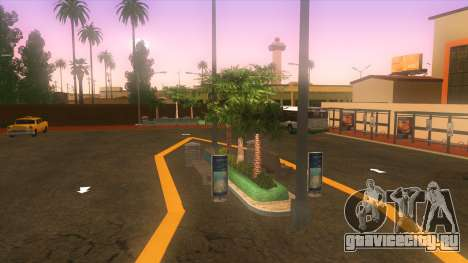 Автовокзал в Лос-Сантосе для GTA San Andreas третий скриншот