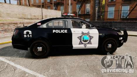 Ford Taurus Liberty State Police для GTA 4 вид слева