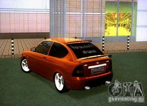 ВАЗ 2172 Coupe Sport для GTA San Andreas вид слева