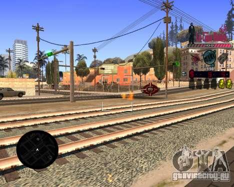 C-HUD LCN для GTA San Andreas третий скриншот
