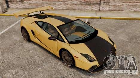 Lamborghini Gallardo 2013 v2.0 для GTA 4 вид сверху