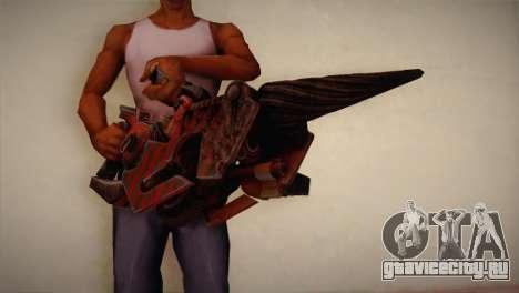 Огнемёт из Bulletstorm для GTA San Andreas третий скриншот