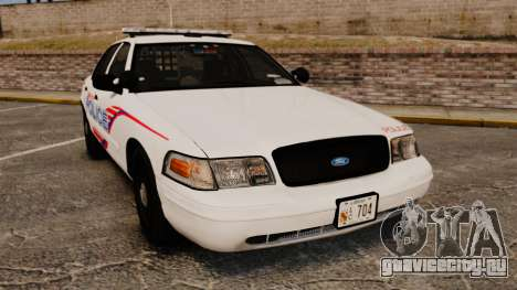 Ford Crown Victoria 2008 LCPD Patrol [ELS] для GTA 4