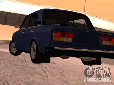 ВАЗ 21074 для GTA San Andreas вид сбоку