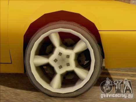 Stratum Sedan Sport для GTA San Andreas вид сзади слева