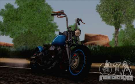 Harley-Davidson Knucklehead для GTA San Andreas