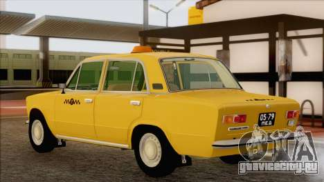 ВАЗ 21011 Такси для GTA San Andreas вид слева
