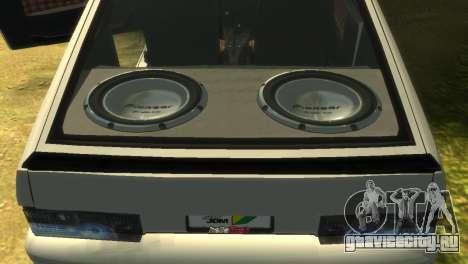ВАЗ 2113 для GTA 4 вид снизу
