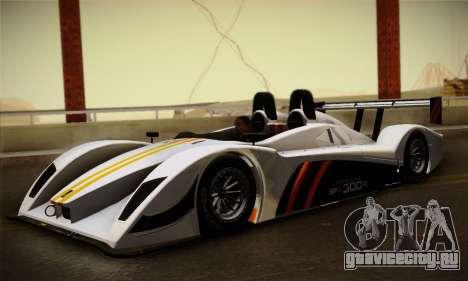 Caterham-Lola SP300.R для GTA San Andreas вид слева