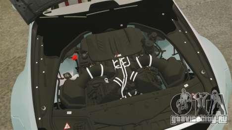 BMW M3 GTS Widebody для GTA 4 вид изнутри