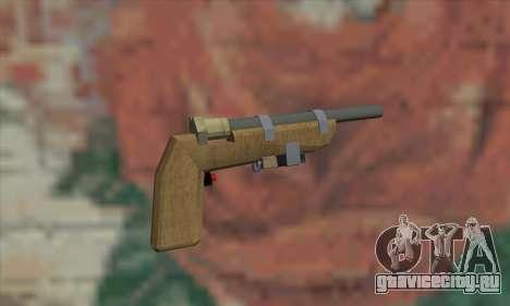 Самодельный пистолет для GTA San Andreas второй скриншот