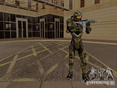 Master Chief для GTA San Andreas третий скриншот