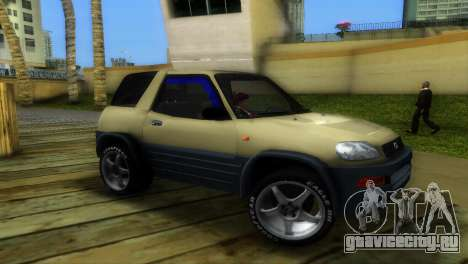Toyota RAV 4 L 94 Fun Cruiser для GTA Vice City вид слева